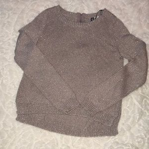 H&M Long Sleeve Sweater- Rose